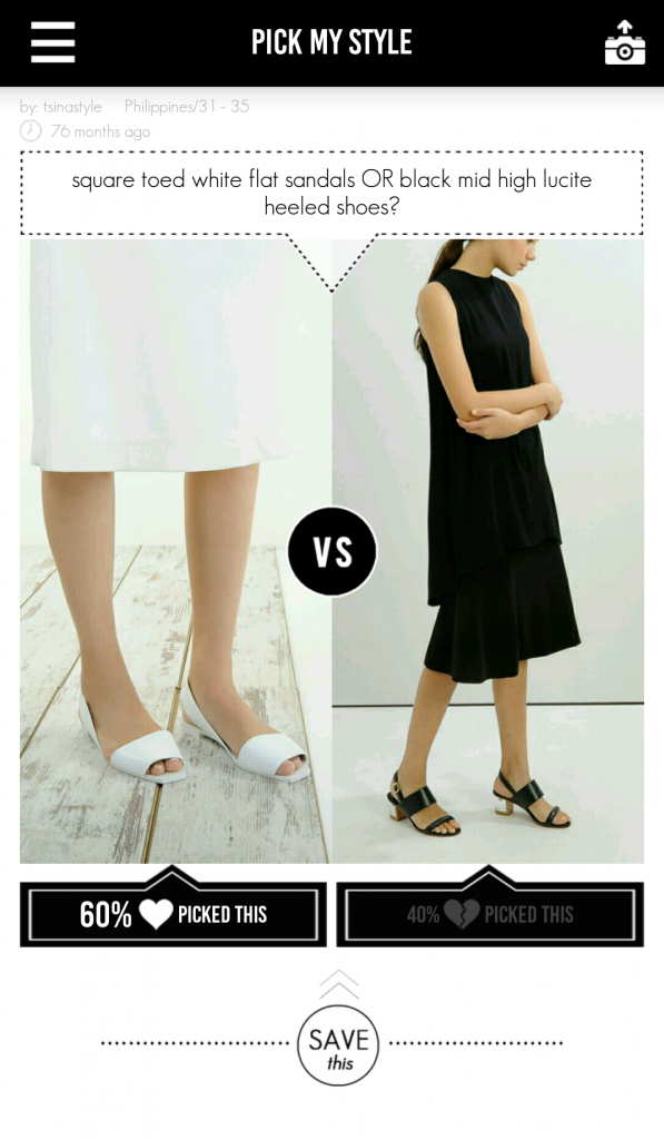 pick my style