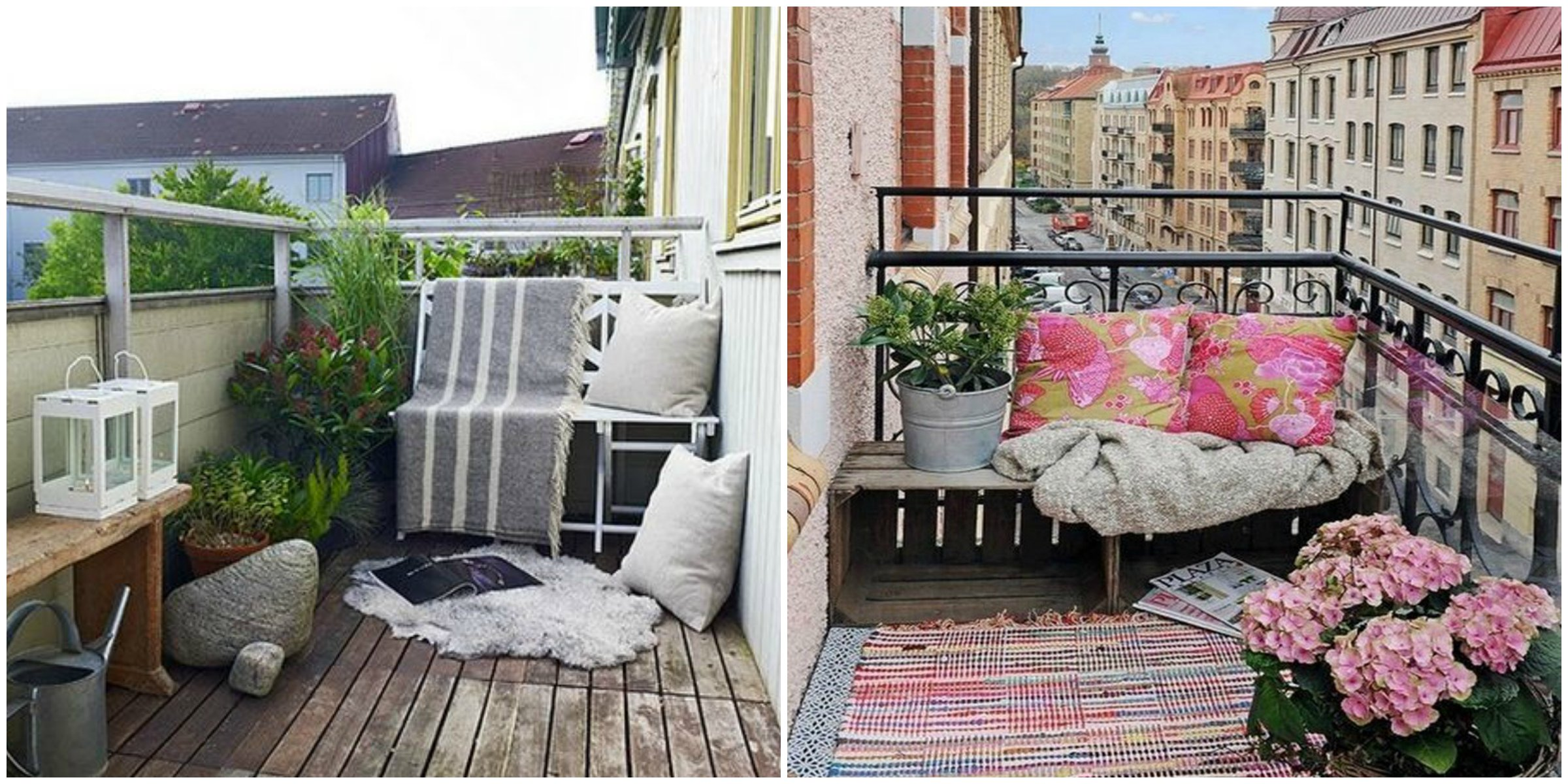 Decor balkon gestalten for Apartment balcony ideas