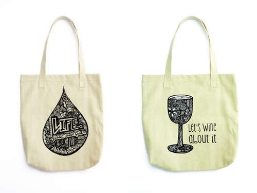 Chic & Cool Tote Bags   tiateilli