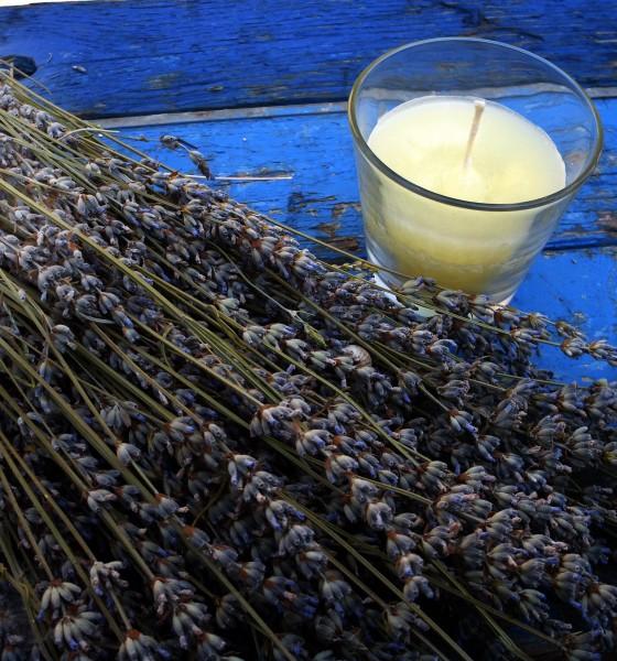 DIY: Lavender Candle