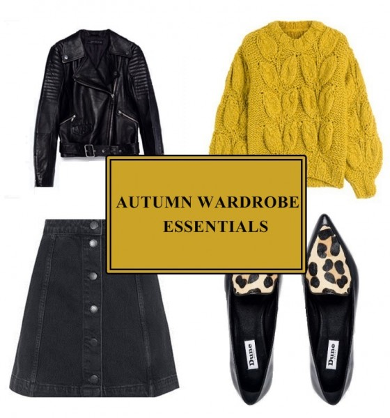 Autumn Wardrobe Essentials