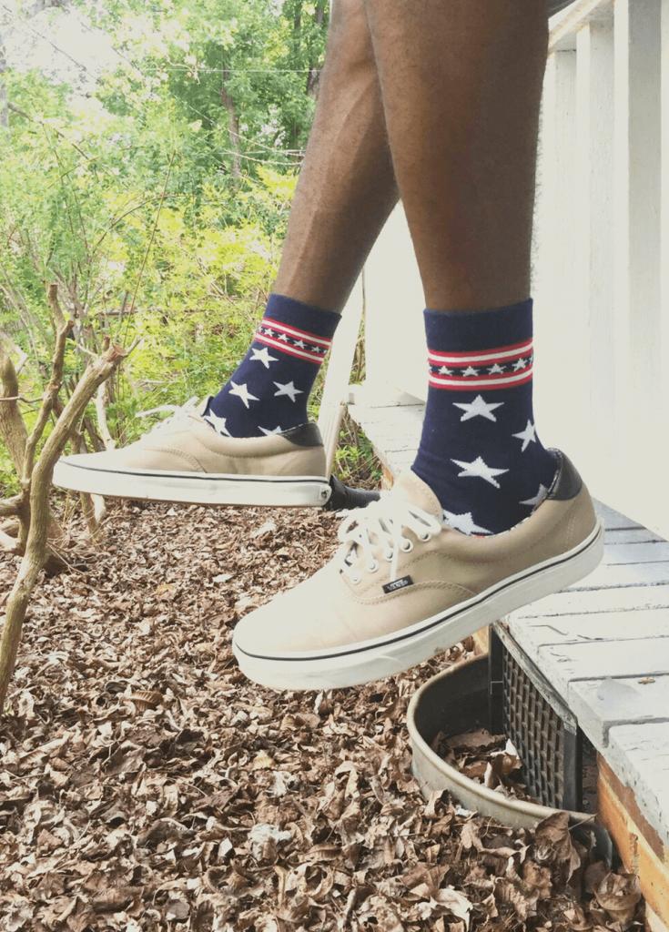 men bold socks