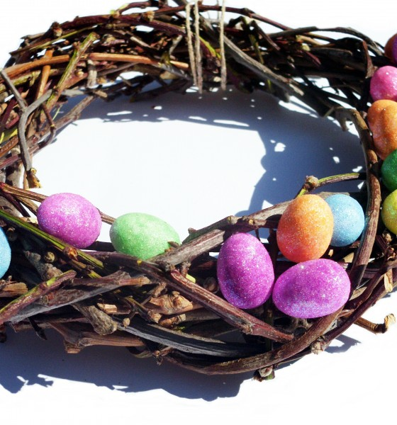 Easter Wreath: Quick and Easy DIY