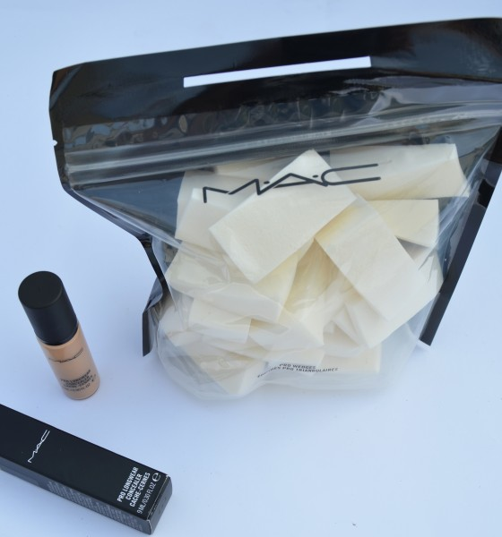 MAC Pro Longwear Concealer & Wedge Sponge Review