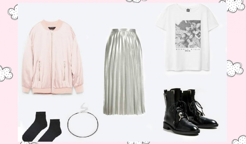Metallic: 2 Ways To Rock The Trend This Fall