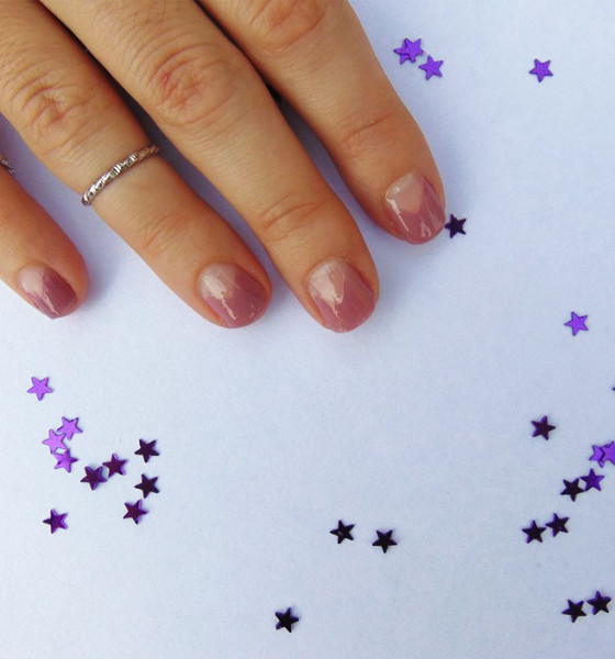 How To Get A Triangle Moon Manicure In 3 Easy Steps