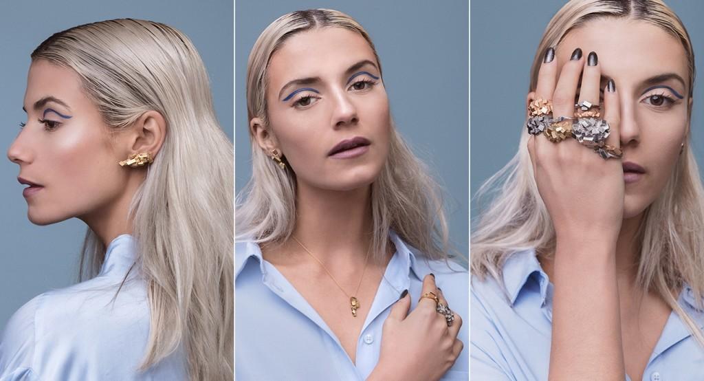 Kathia Bucho futuristic jewelry