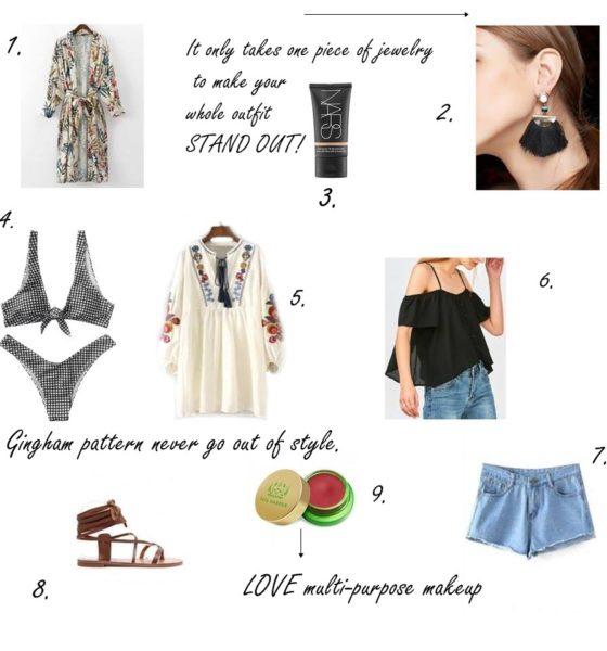 Weekend Getaway Bag Wishlist