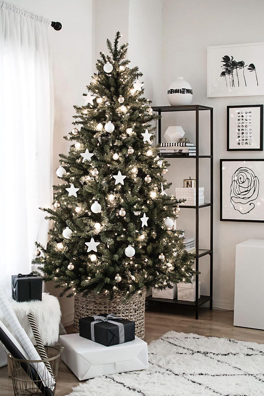 jednostavna božićna dekoracija