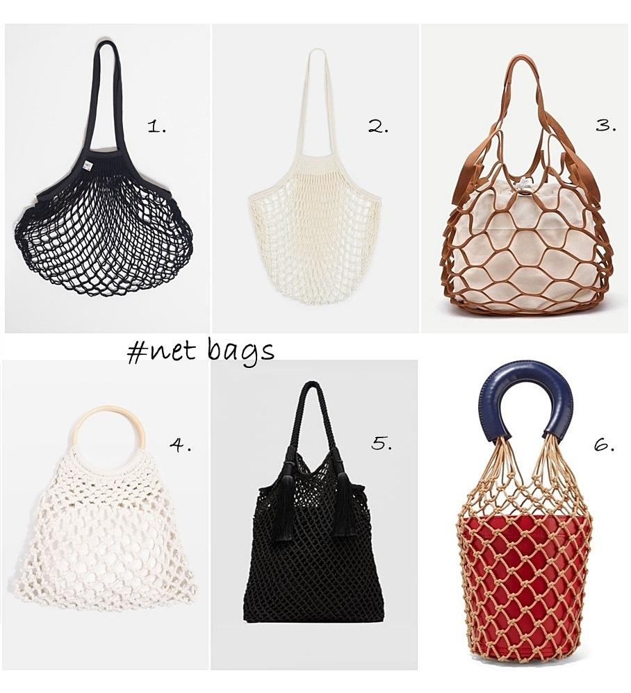 mrežaste torbe