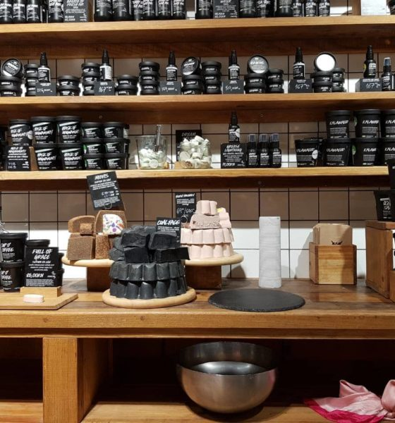 LUSH Store Tour + Beauty Treatment