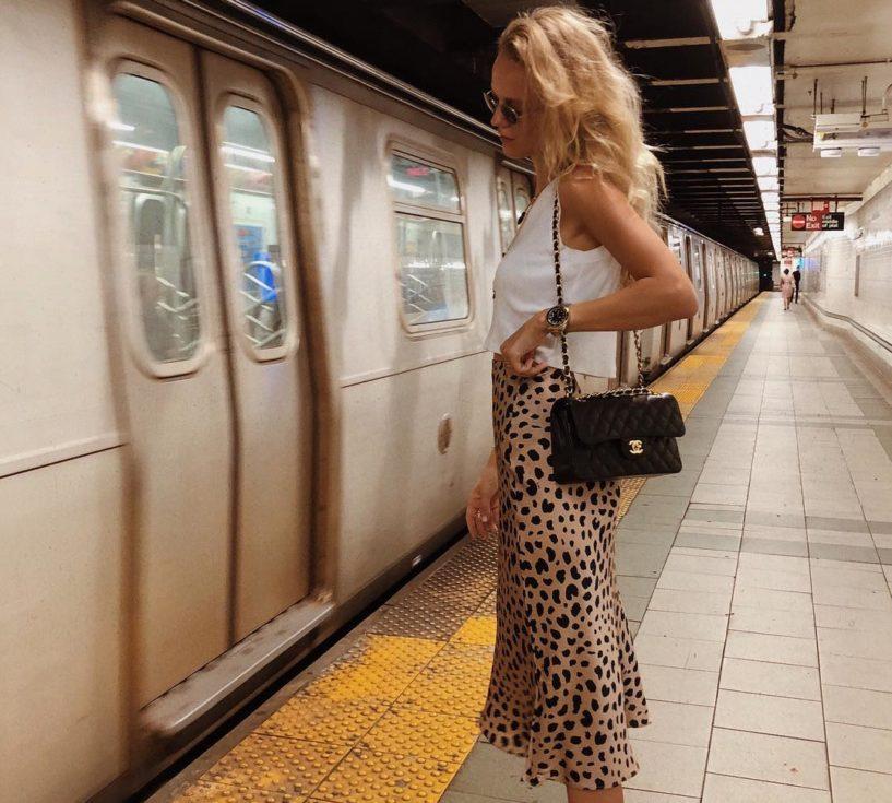 silk skirt trend