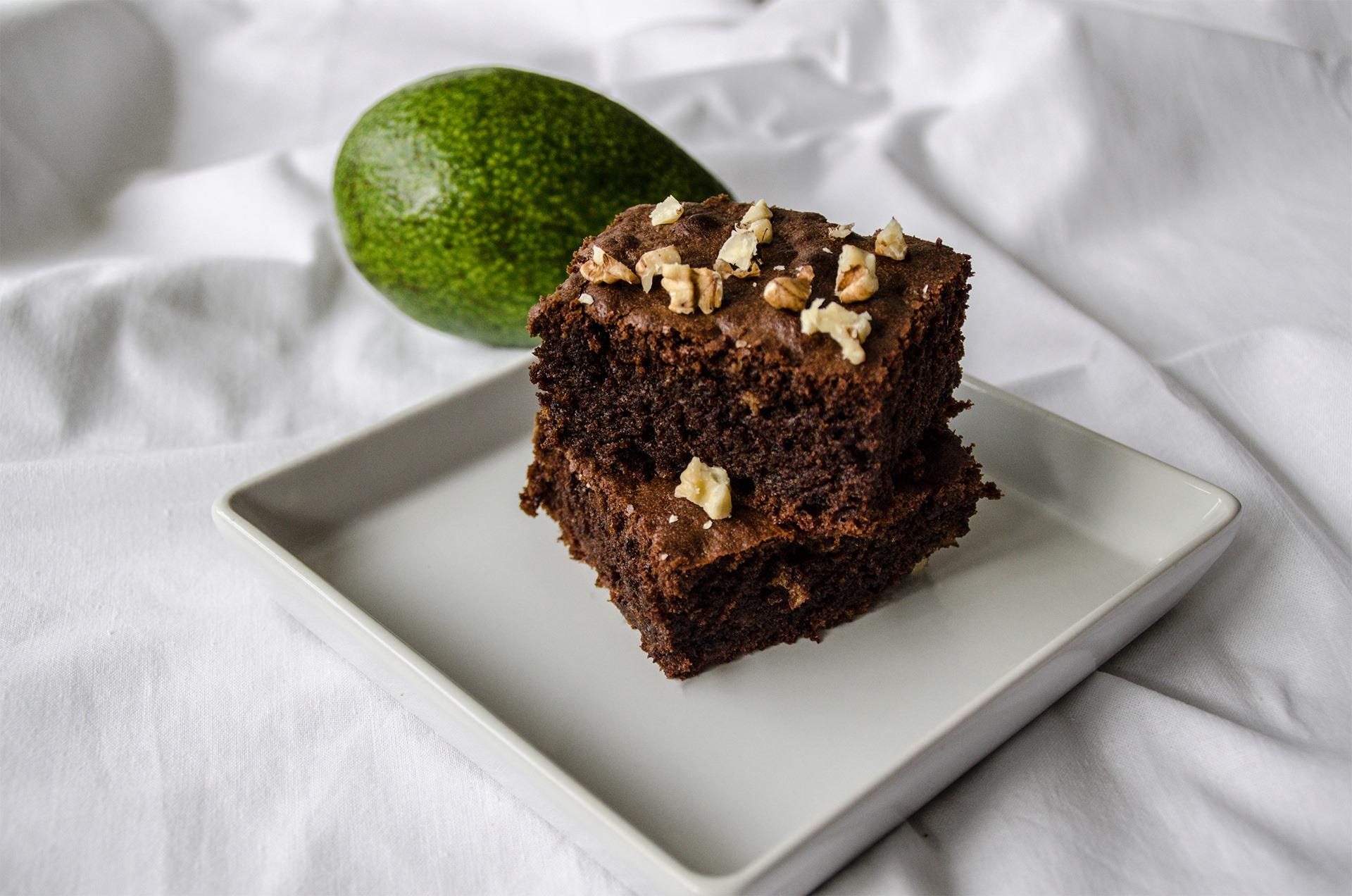 avokado brownies recept
