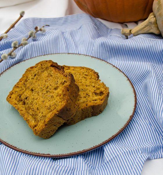 Veganski Slatki Kruh Od Bundeve Sa Začinima