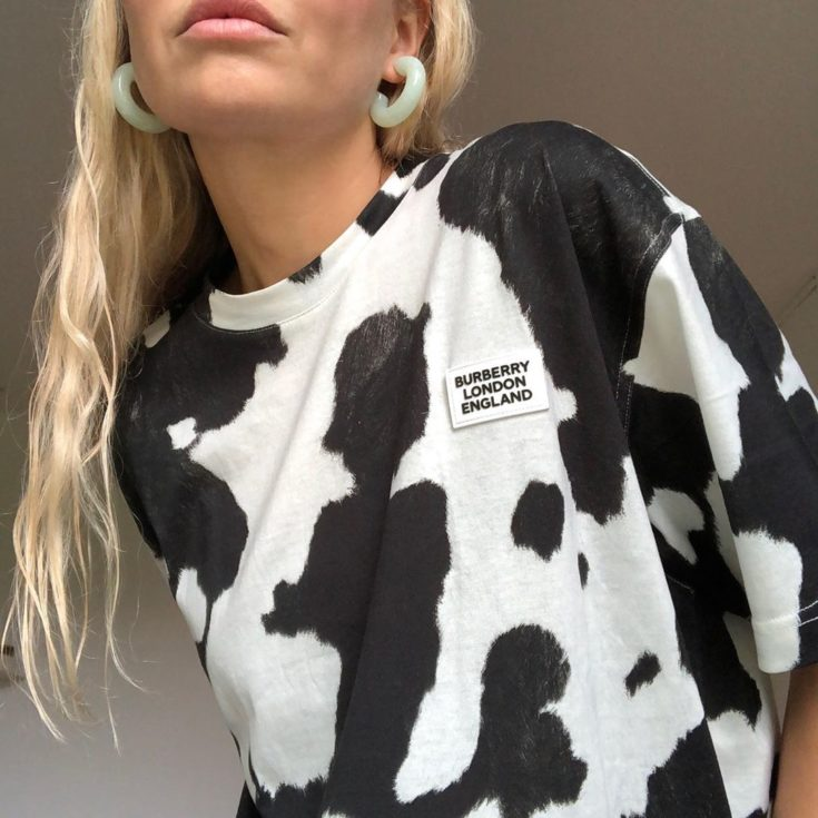 cow print trend