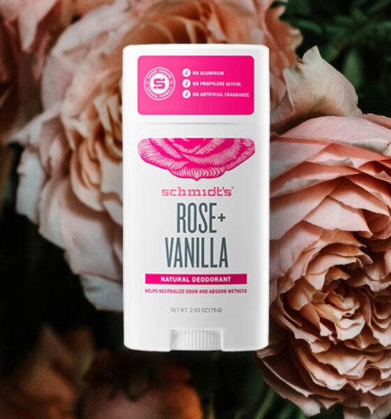 Schmidt's Rose + Vanilla Deo Stik: Recenzija