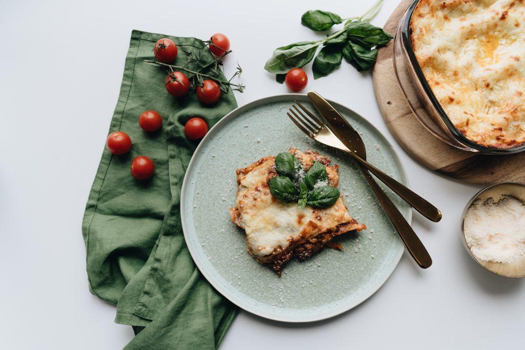 Vegetarian Mushroom Lentil Lasagna